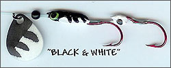 Black and White Kokanee/Trout Bug