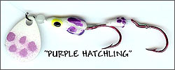 Purple Hatchling Kokanee/Trout Bug