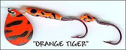 Orange Tiger Kokanee/Trout Bug