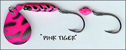 Pink Tiger Kokanee/Trout Bug