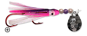 Pink/Purple/Blue/White Super Squid